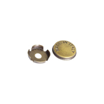 Заглушка декоративная для винта крепления ручки, отделка бронза античная SCR001.014.0004