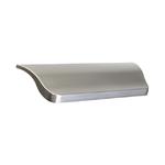 Ручка-скоба 96мм, отделка сталь шлифованная S532460096-66