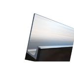Профиль-ручка под пропил, L=5000мм, отделка сталь нержавеющая 901307.67.00 5000.0
