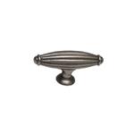 Ручка-кнопка, отделка никель античный KB-M-3216-S-NP