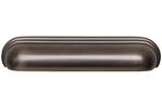 HN-M-4160-128-AC Ручка-скоба 128мм, отделка шлифованная медь