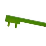 Вставка пластиковая для ручки CH0200-160192.ХХ, отделка светло-зеленая PI.CH0200.0002