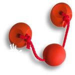 7946RJ Ручка скоба детская, цвет красный 96 мм