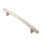 Ручка-скоба с кристаллами, 160мм, хром, 223*16*28 (Акрил) ACR08-160 BA